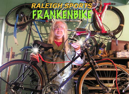 Raleigh Sports Frankenbike