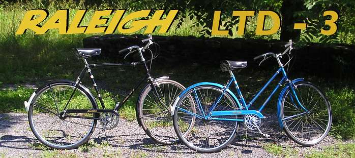 1972 Raleigh Ltd 3